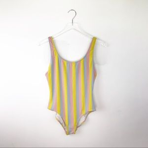 Solid & Striped | Pastel Maui Shimmer One Piece L